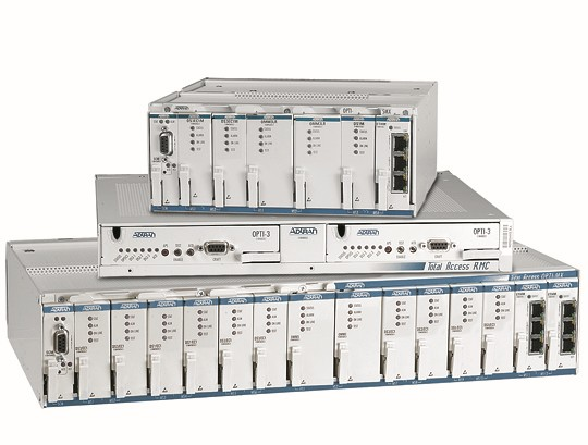 OPTI-3 and OPTI-6100 Fiber Multiplexers