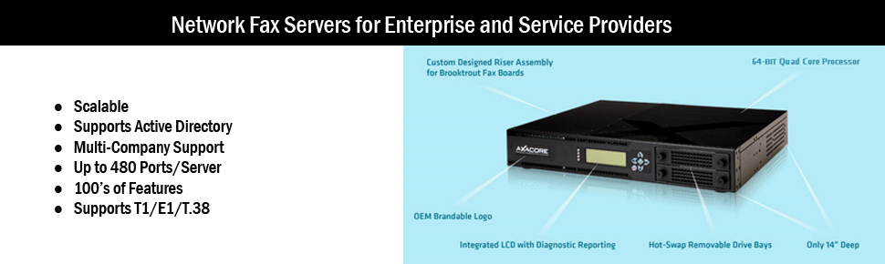Network Fax Servers for Enterprise and Service Providers