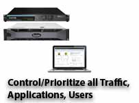 Exinda Control and Prioritize Traffic, Users and Applications