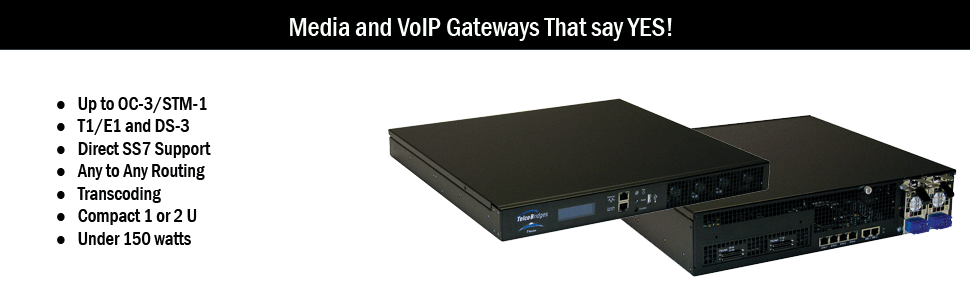 Media and VoIP Gateways