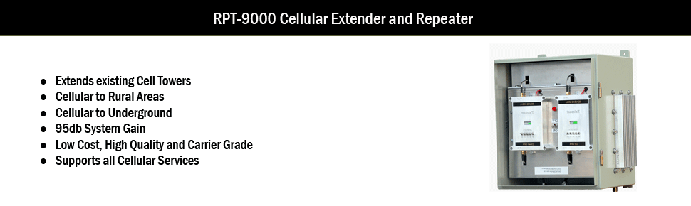 Carrier Grade Cellular Repeater and Extender for large areas